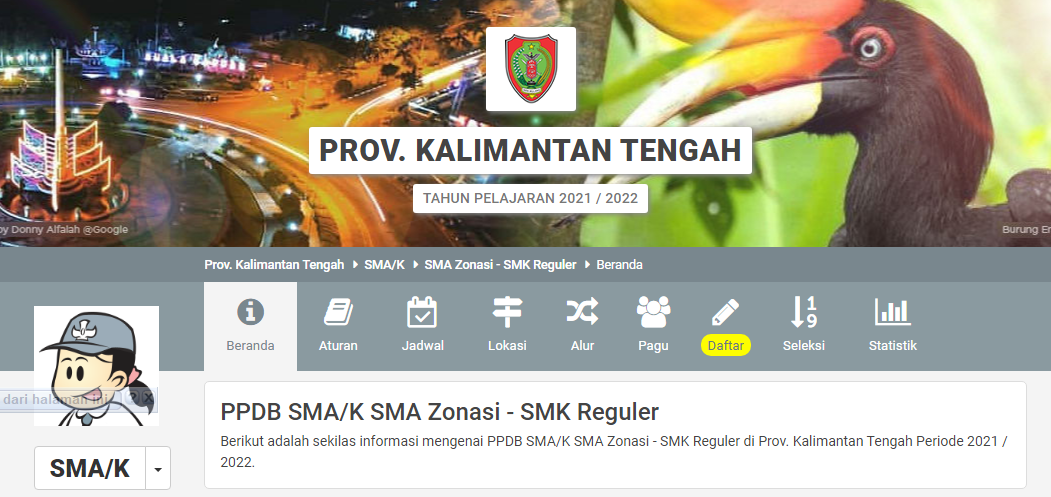 VIDEO TUTORIAL CARA MENDAFTAR PPDB SMK NEGERI 2 SAMPIT TAHUN 2021